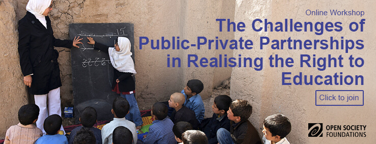 The Challenges of Public Private Partnerships in Realising the Right to Education