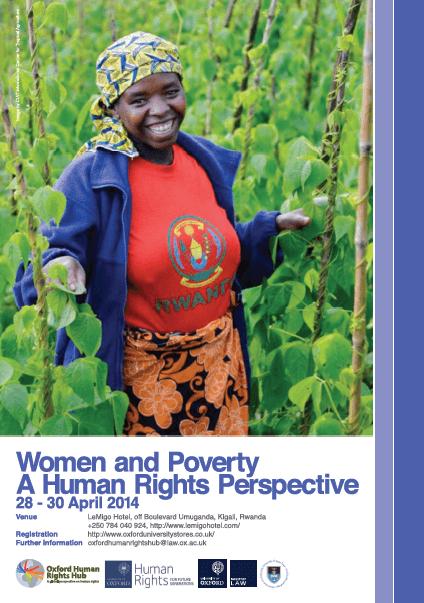 'Women and Poverty: A Human Rights Approach' (28-30 April 2014, Kigali, Rwanda)