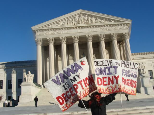Weakening Protections for Victims of Gender-Based Violence in the United States?