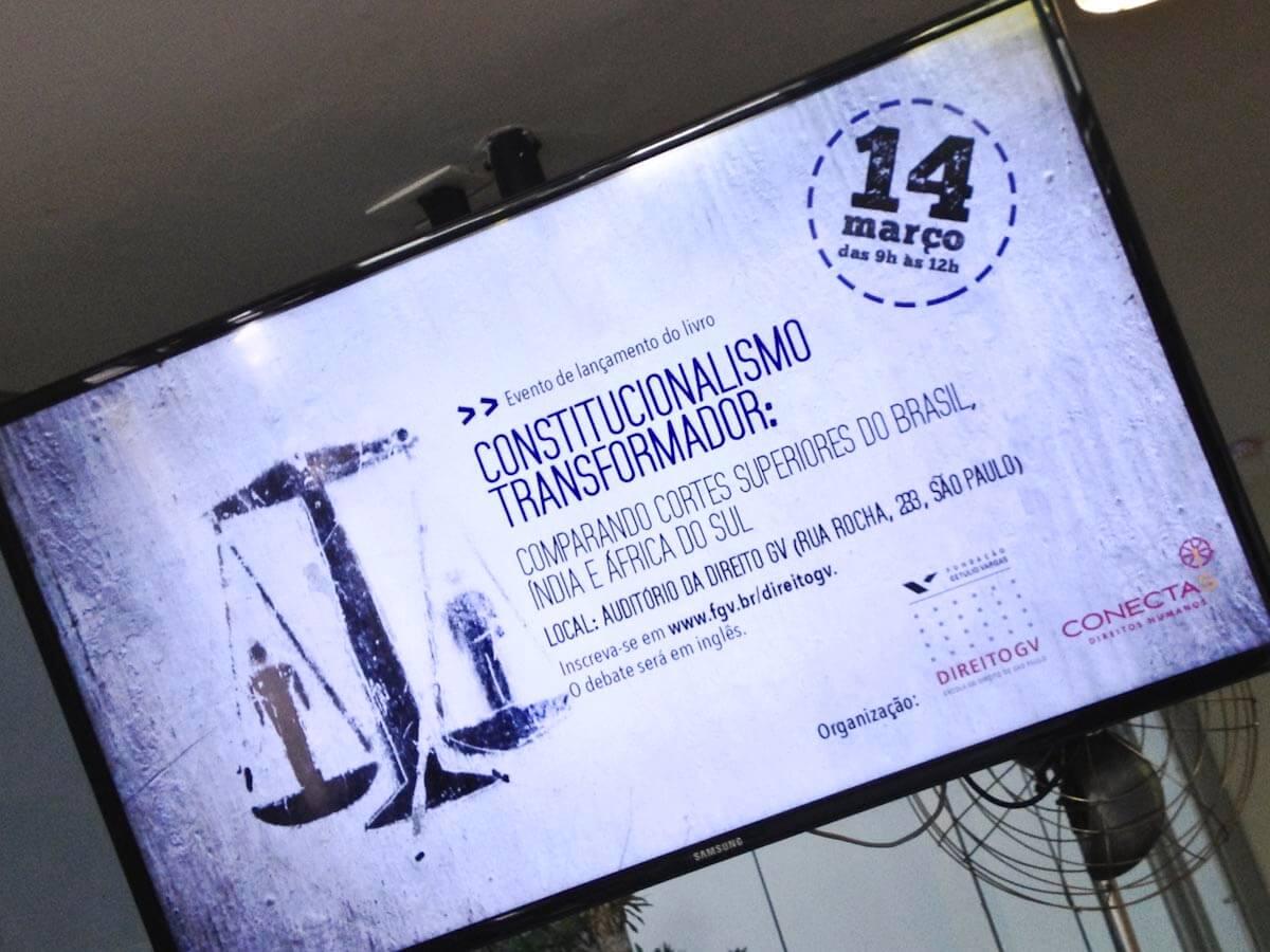 Prof Fredman helps launch 'Transformative constitutionalism' in Sao Paulo, Brazil