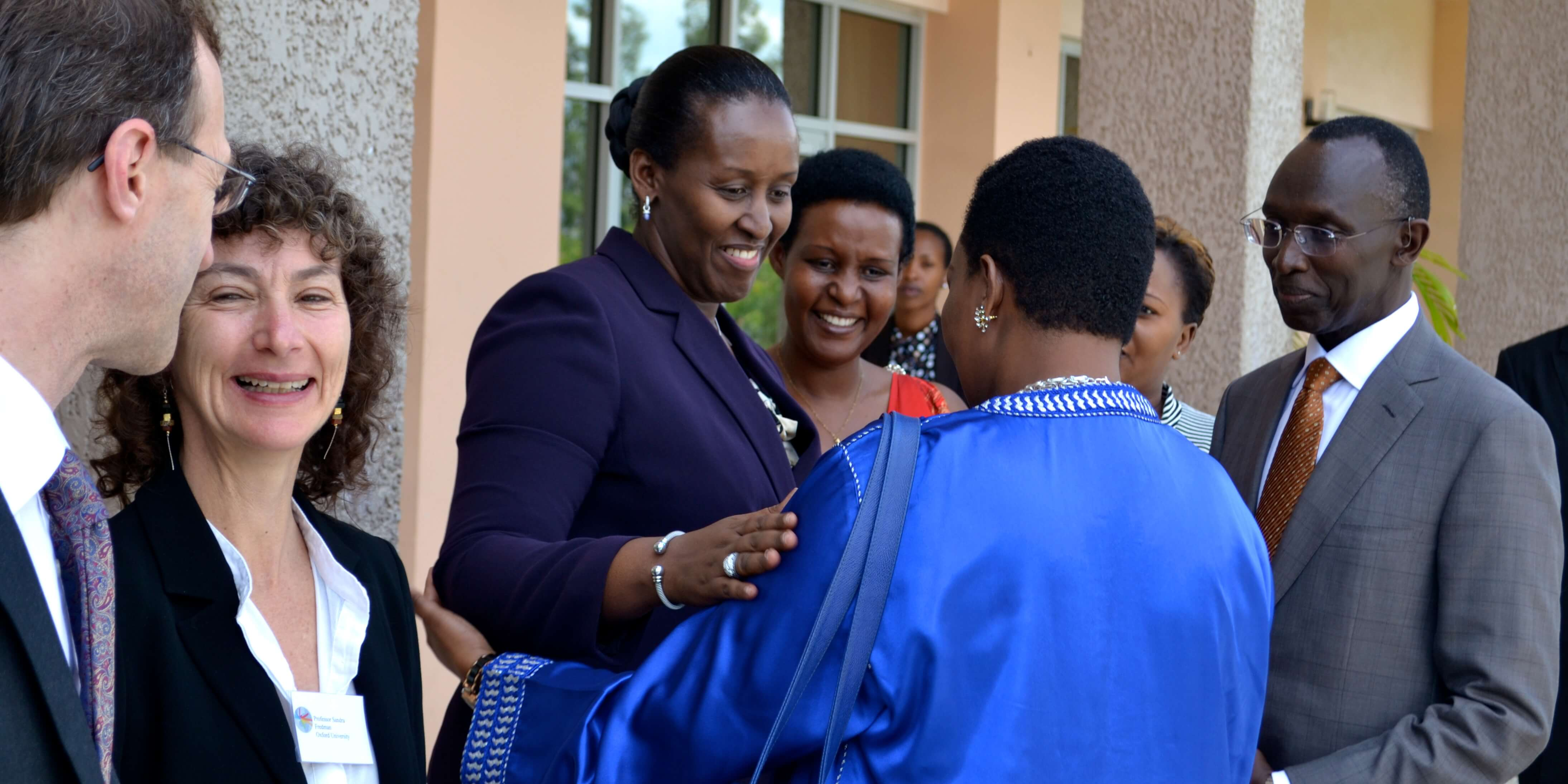 First Lady of Rwanda – Women and Poverty: A Human Rights Approach