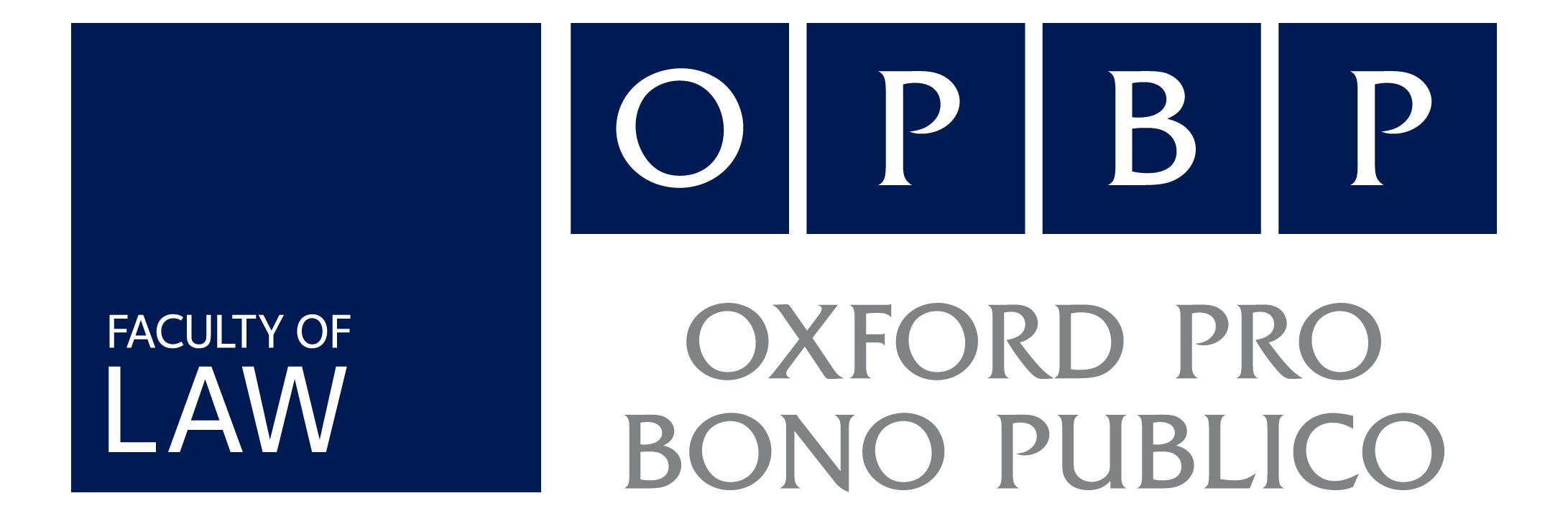 New Oxford Pro Bono Publico Executive Committee 2015-2016