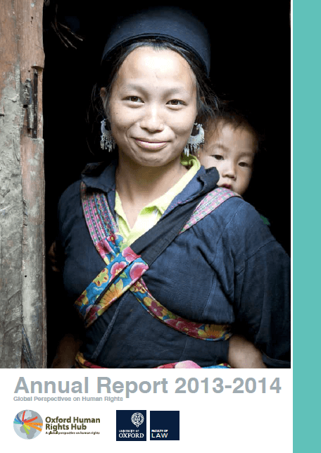 OxHRH 2013-2014 Report Available Now
