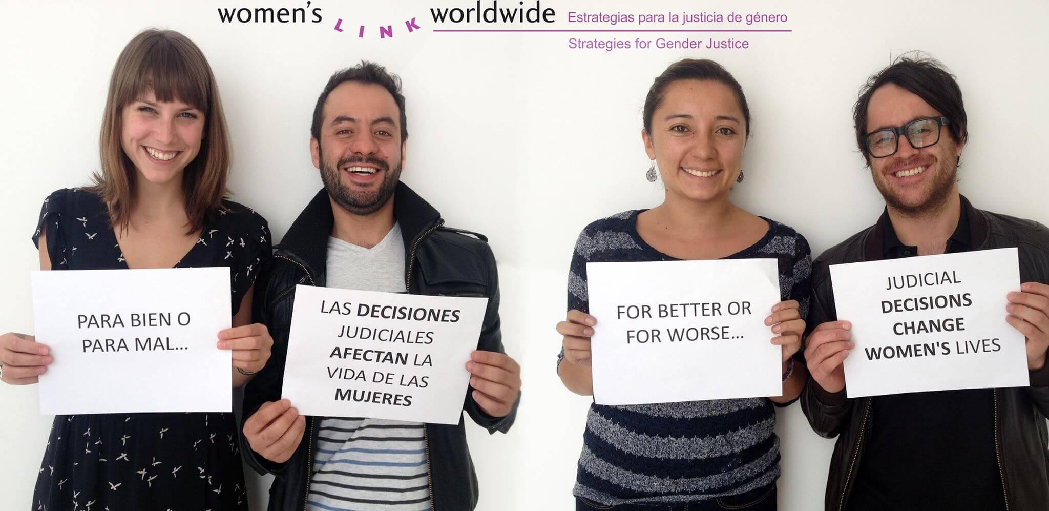 Decisiones nominadas para la categoría Garrote en los Premios Género y Justicia al Descubierto 2015