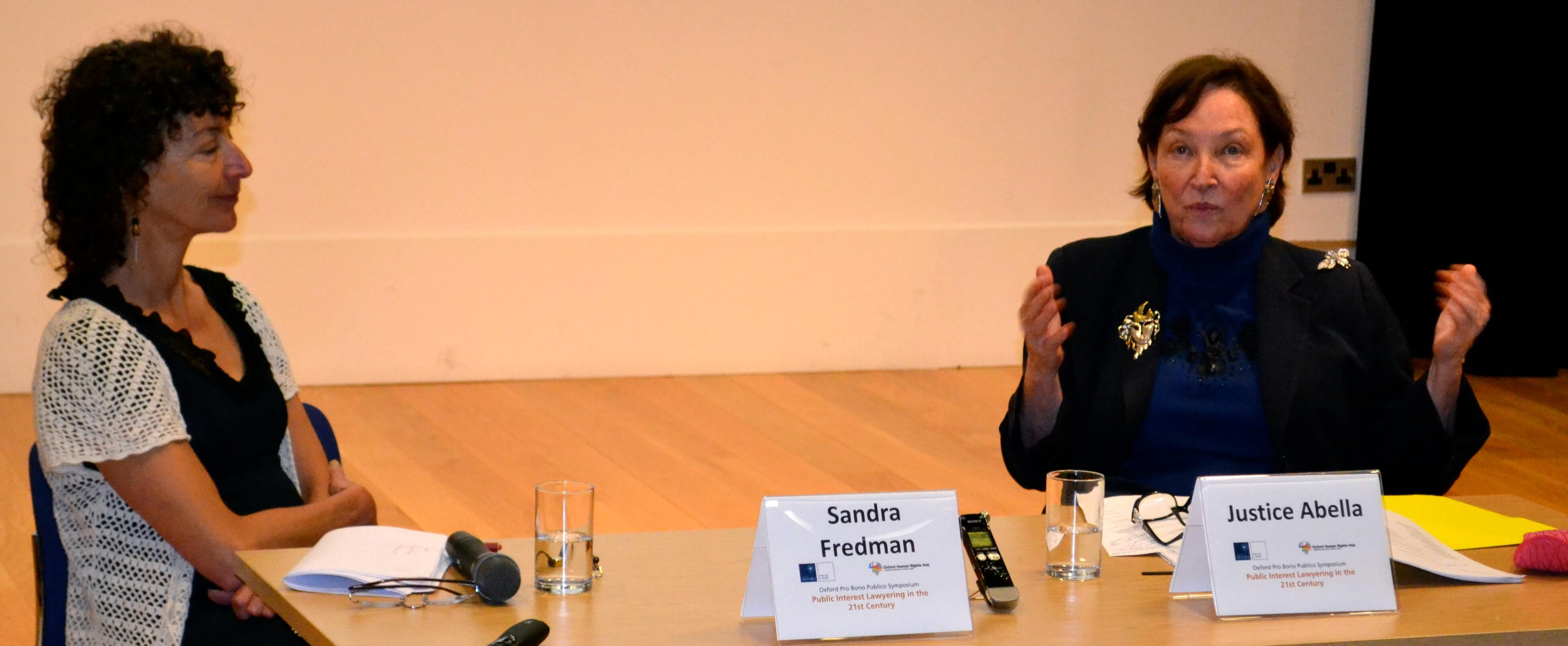 OPBP Symposium: In Conversation with Justice Abella