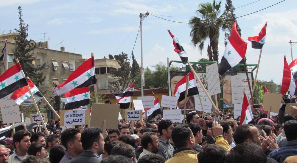 Repression of Nonviolent Activism in Syria