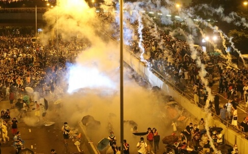 The Violence Must Stop – Abuse of Police Power in Hong Kong's Democracy Protests