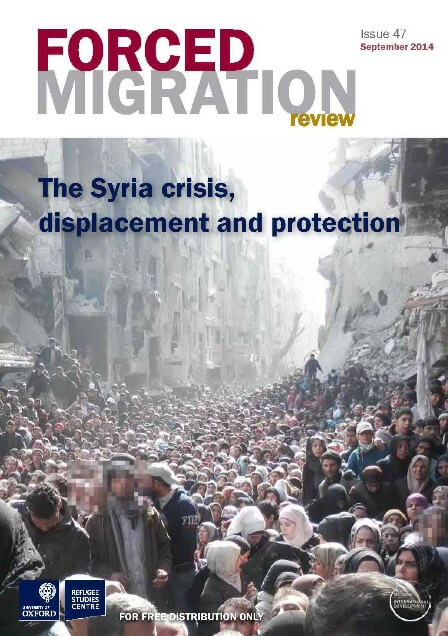 New Publication: 'The Syria crisis, displacement and protection'