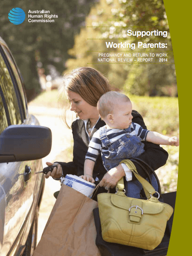 Improving the Law for Pregnant Women and Working Parents