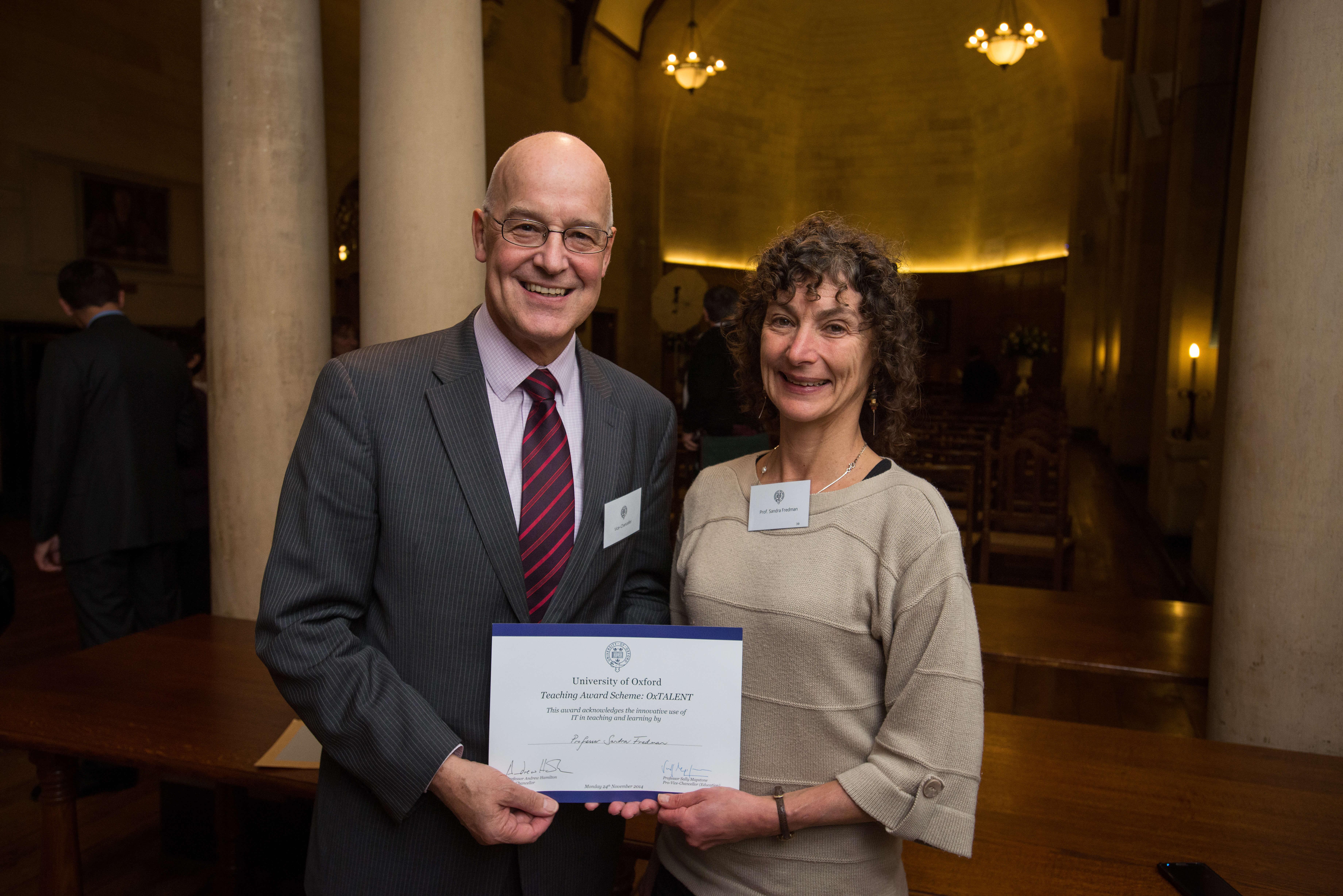 OxTalent Awards Reception