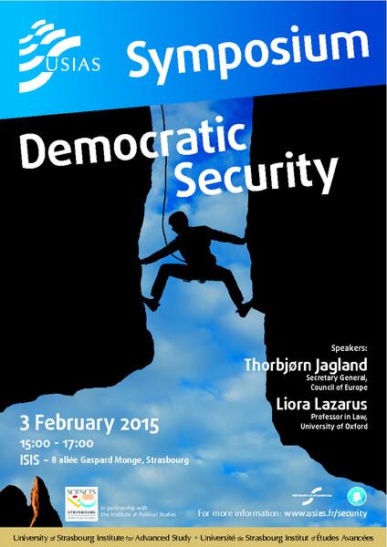 Associate Director Prof Liora Lazarus Presenting at the USIAS Symposium-Democratic Security