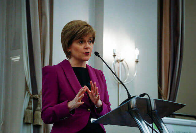 """""""It's time for women to break the glass ceiling""""  FM Nicola Sturgeon Places Women and Violence at the Heart of Human Rights and Scottish Legislation"""