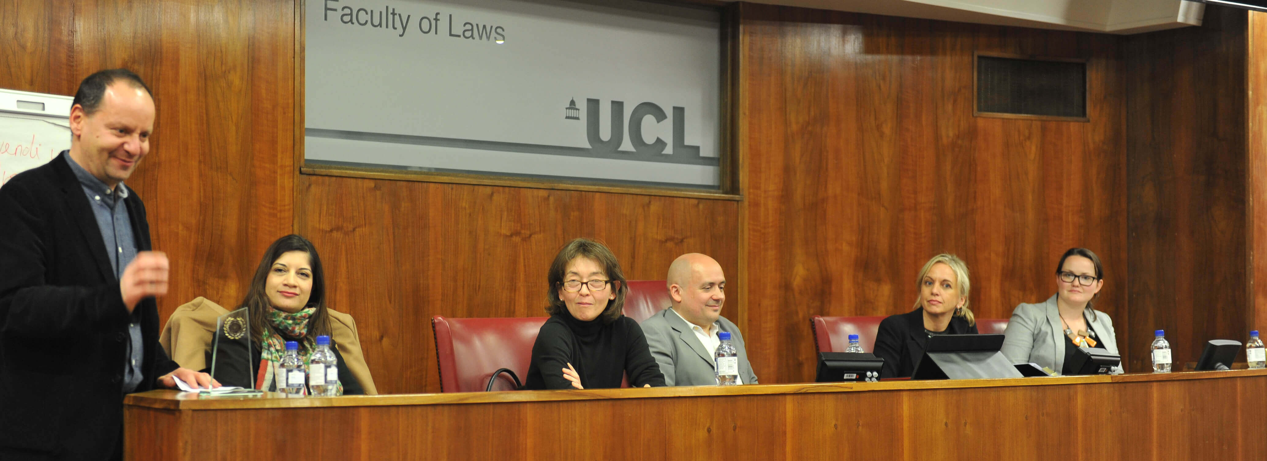 OxHRH Deputy Director, Laura Hilly, Judges Human Rights Watch Moot