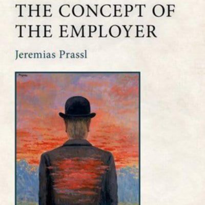 Book Launch: The Concept of the Employer by Dr Jeremias Prassl