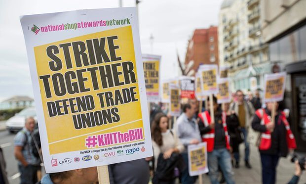Politics and Legality: The UK's Trade Union Bill 2015