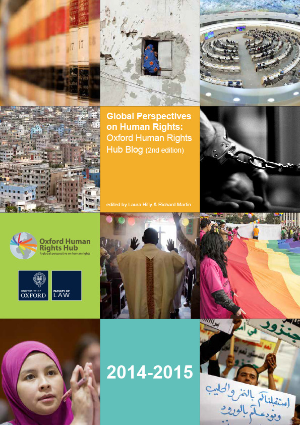 Publication Launch: Global Perspectives on Human Rights (2nd Edition)