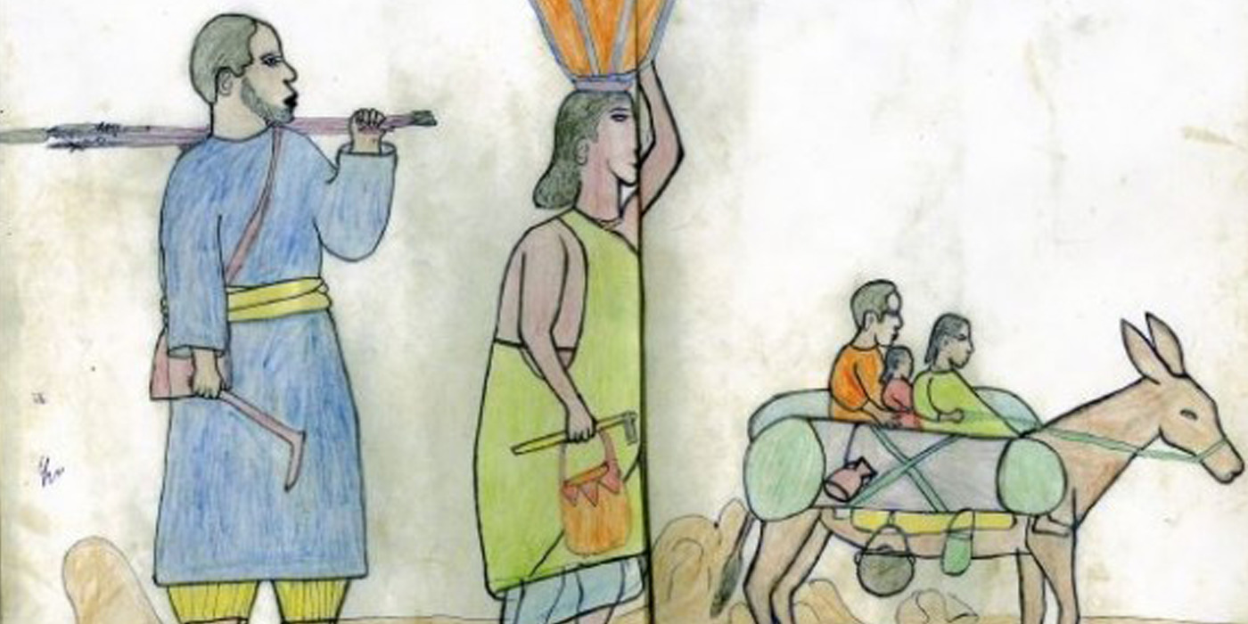 Sketches of Oppression: A Free Exhibit Featuring Children's Drawings From Burma and Sudan