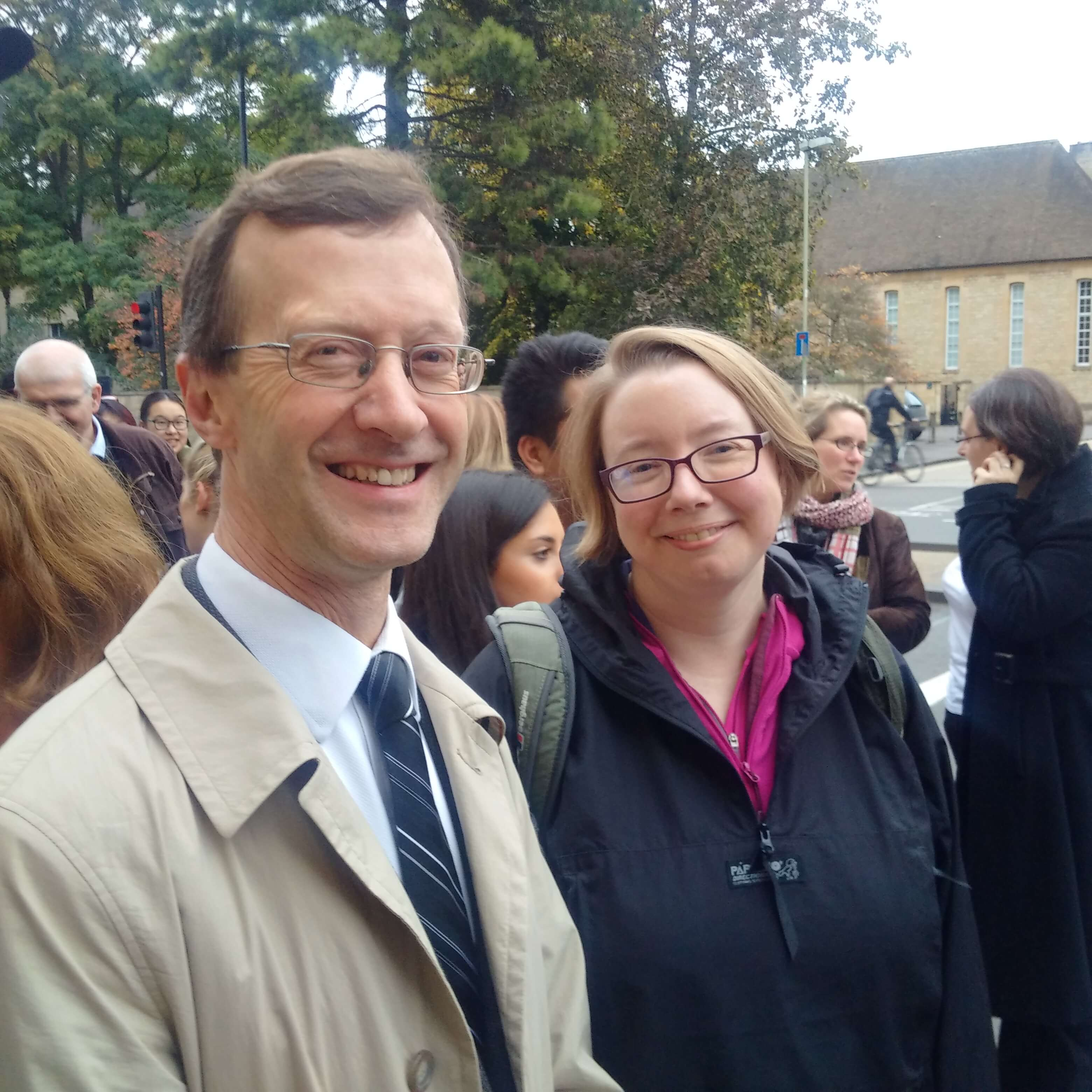 OLA and OxHRH Participates in Oxford Legal Walk