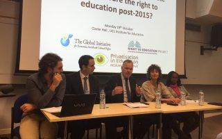 Prof Fredman participates in Panel Event: Setting the Rules of the Game-How Can  Regulations of Private Actors ensure the Right to Education in the Post-2015 Setting?