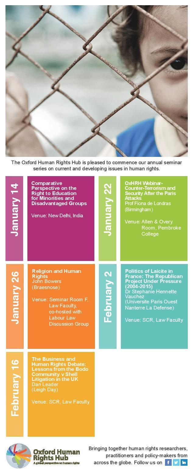 OxHRH Hilary Term Card