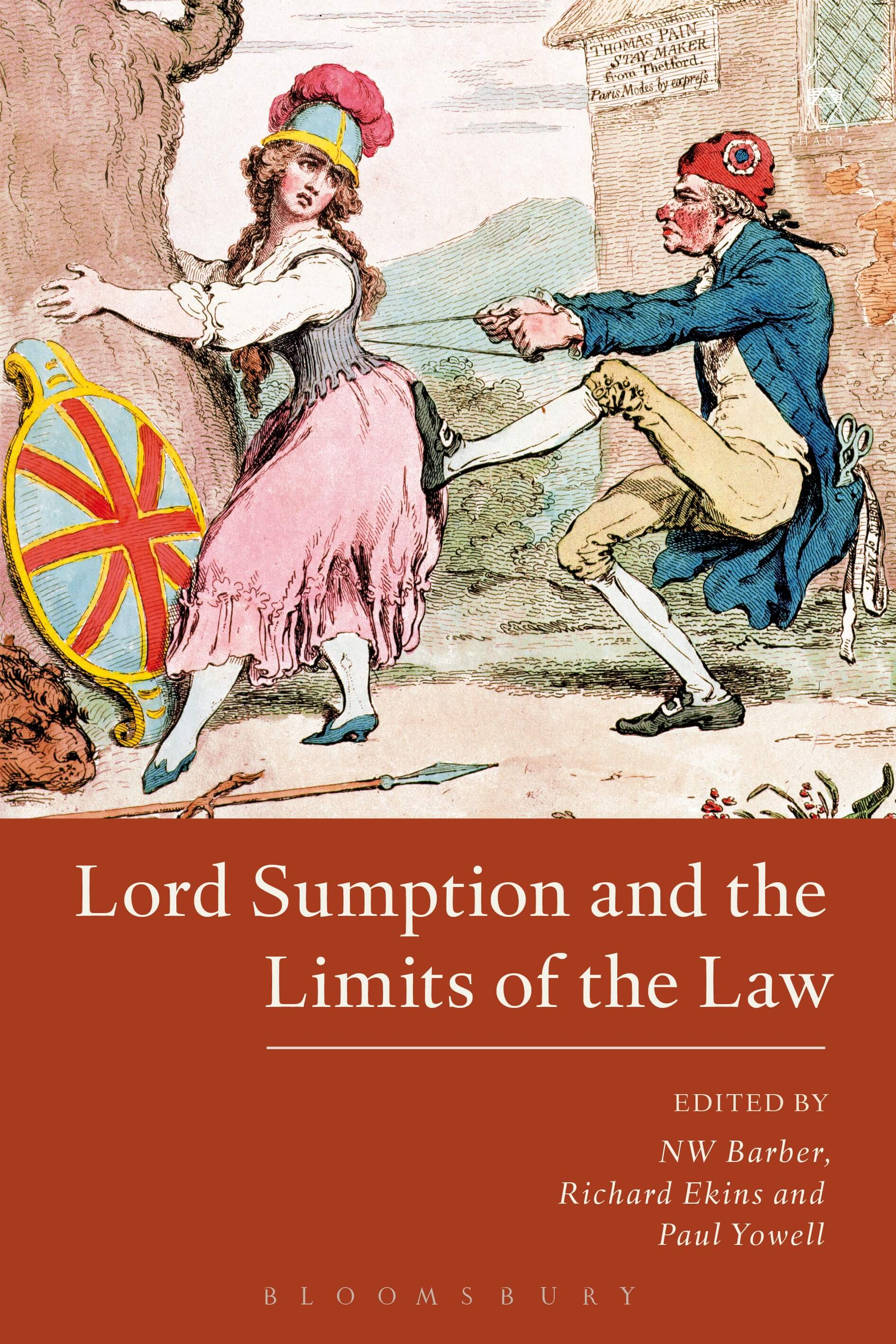 New Publication: Lord Sumption and the Limits of the Law- (eds) Nicholas Barber, Paul Yowell and Richard Ekins