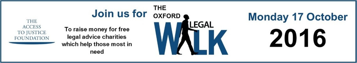 Access to Justice Foundation-Oxford Legal Walk-October 17