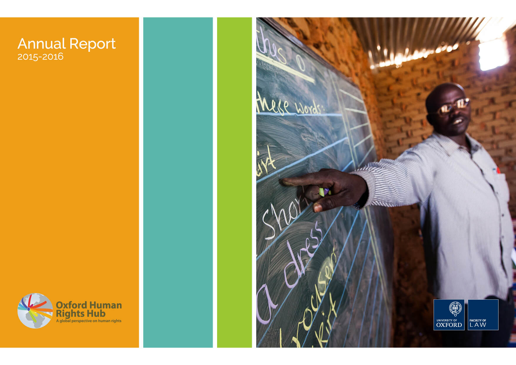 OxHRH Annual Report 2015-2016