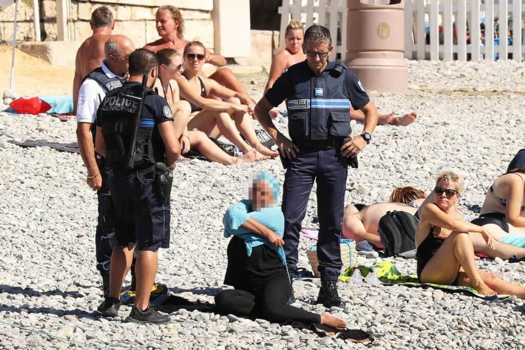 The 'Burkini Ban' – A Red Line even for the European Court of Human Rights?