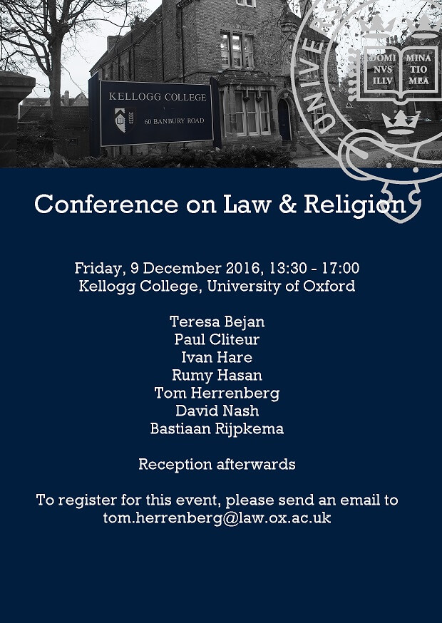 Conference on Law & Religion