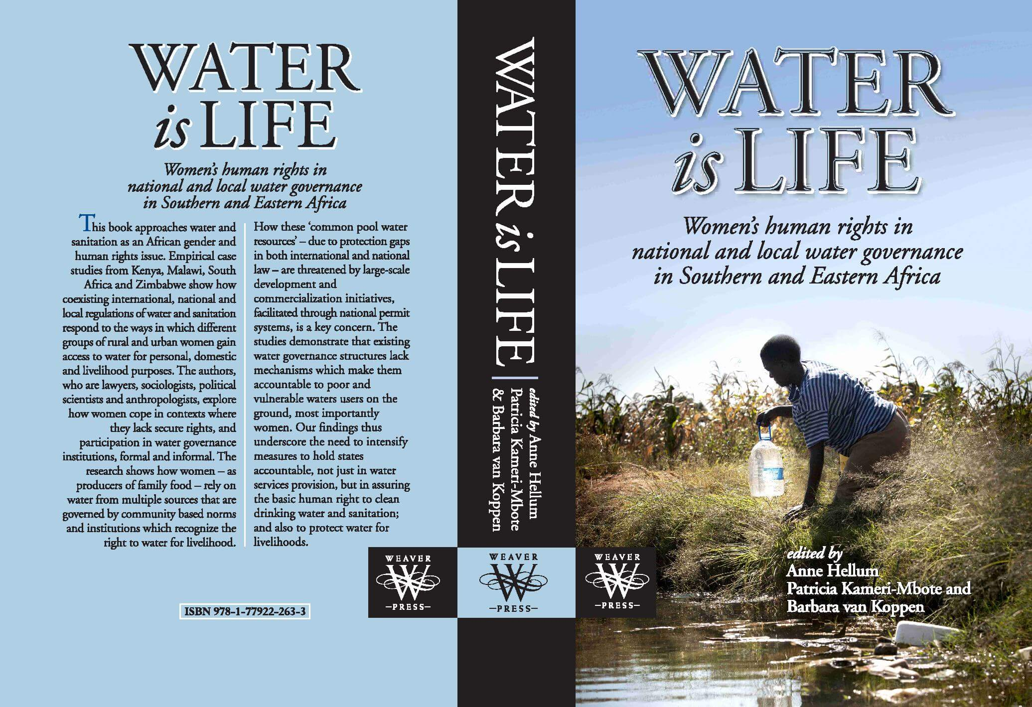 New Publication: Water is Life: Women's Rights in National and Local Water Governance in Eastern and Southern Africa