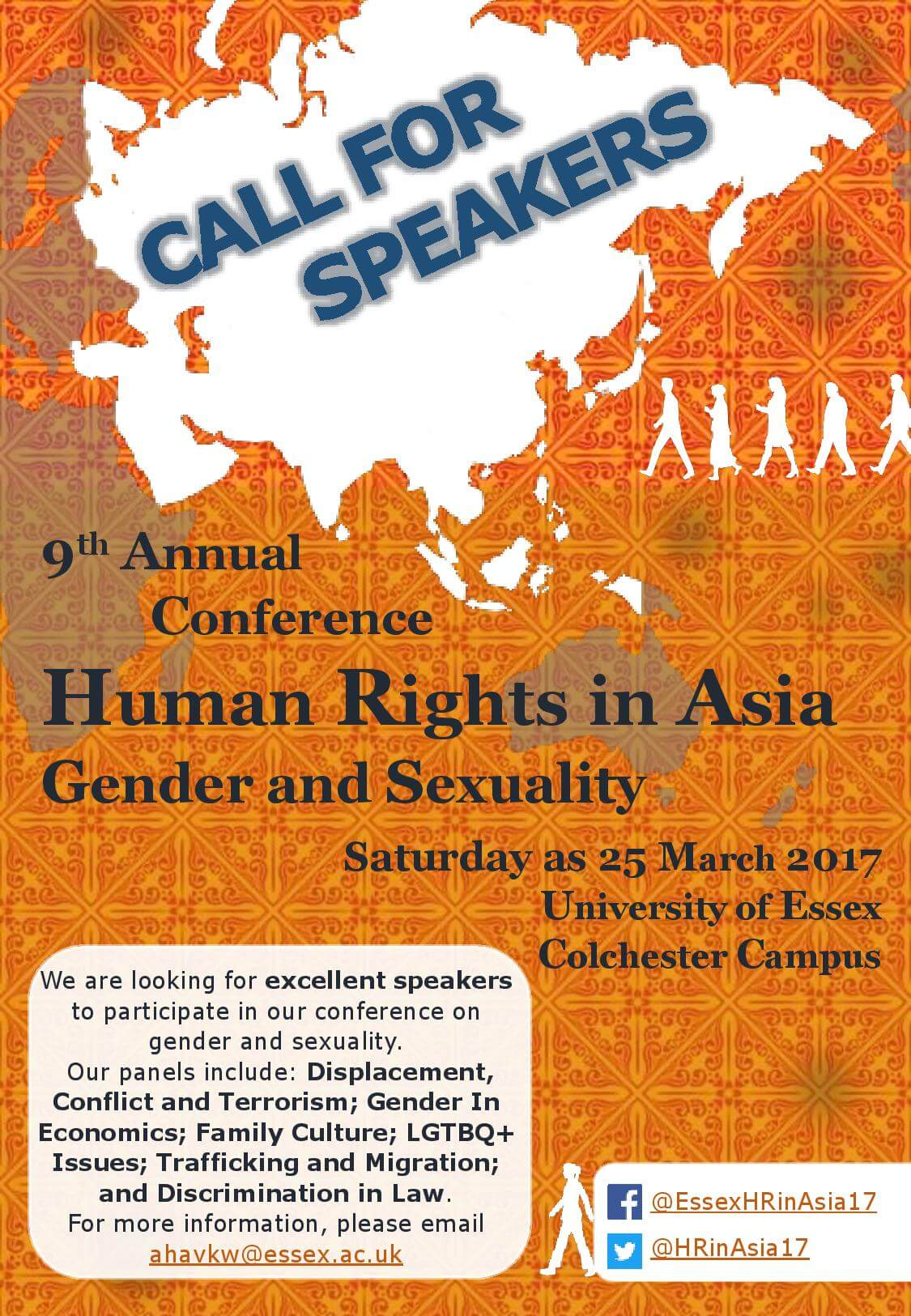 Call for Papers: Human Rights in Asia-Gender and Sexuality