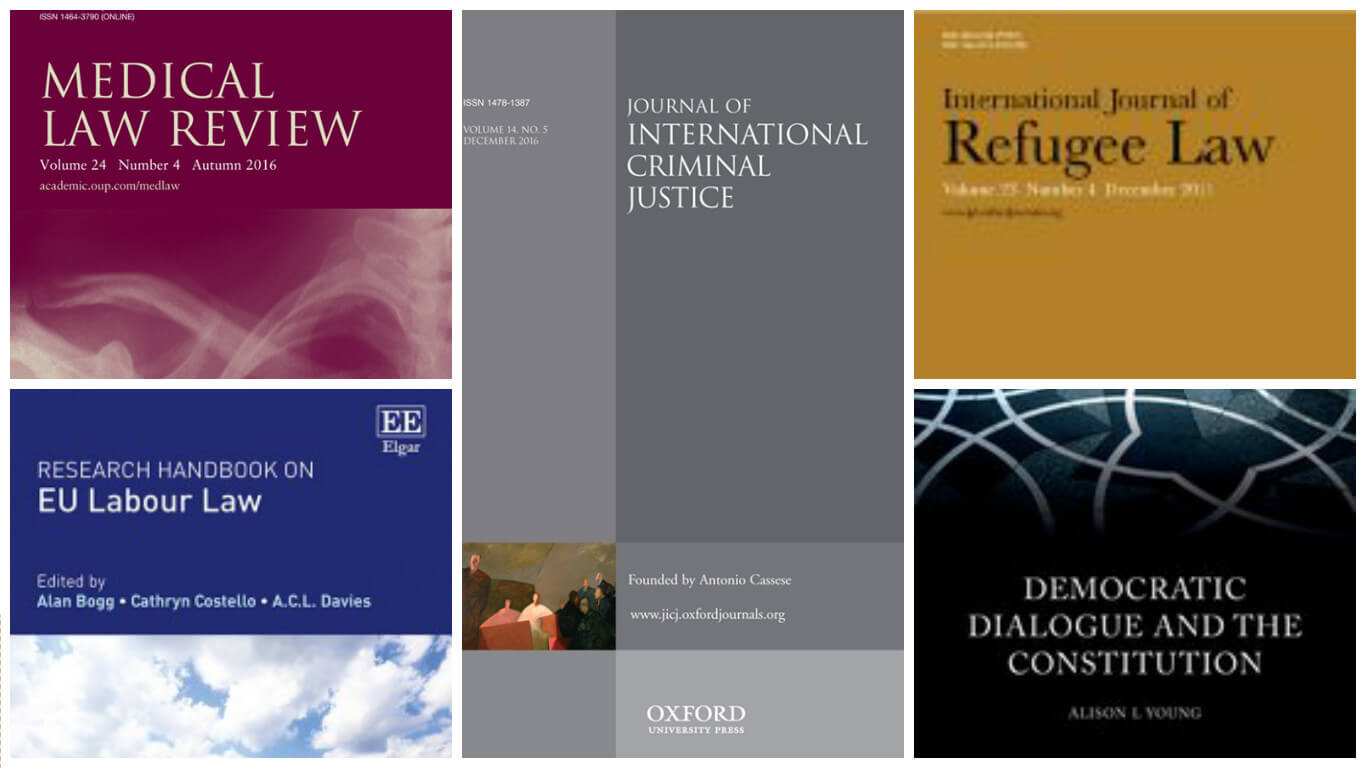 New Publications from the OxHRH Team and Associates!