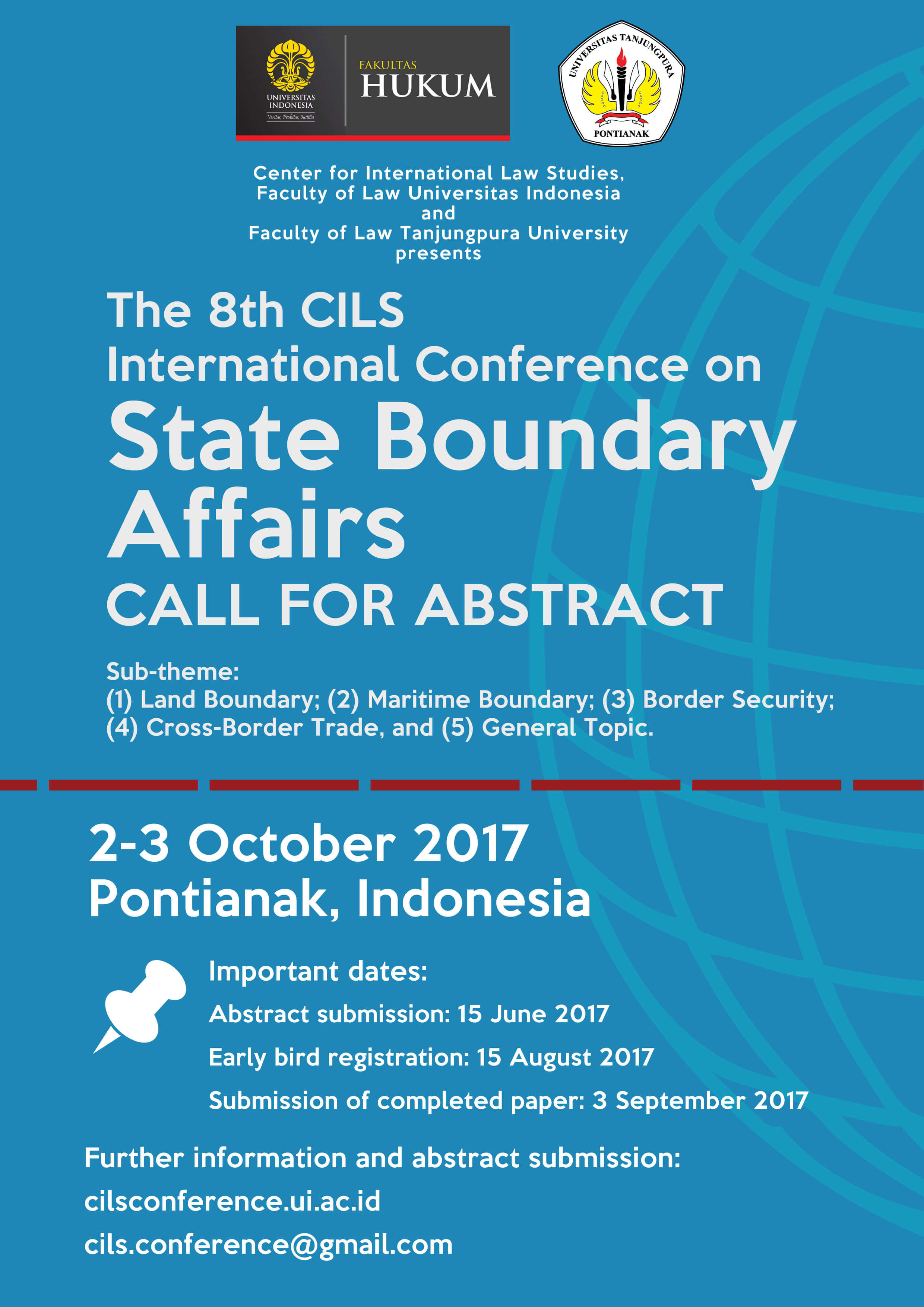 Call for Papers: International Conference on State Boundary Affairs