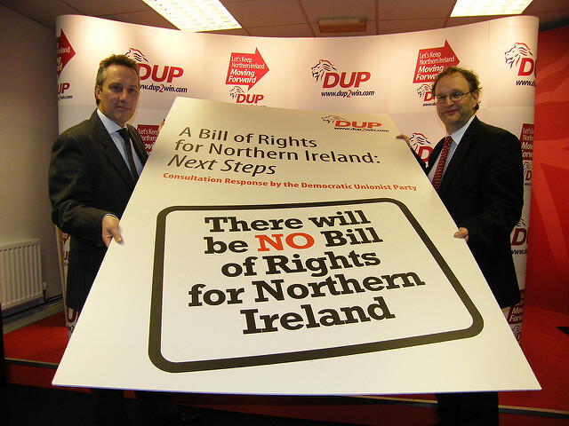 The DUP's Worrying Human Rights Record