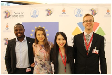 Congratulations to University of Oxford Nelson Mandela World Human Rights Moot Competition Team!