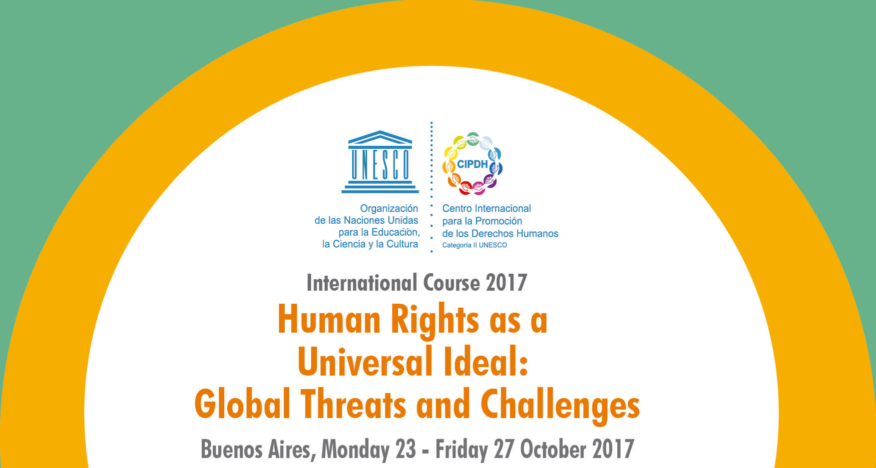 """International Course: """"Human Rights as a Universal Ideal: Global Threats and Challenges"""""""