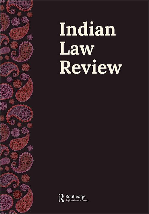 Call for Submissions: Indian Law Review-Literature Review