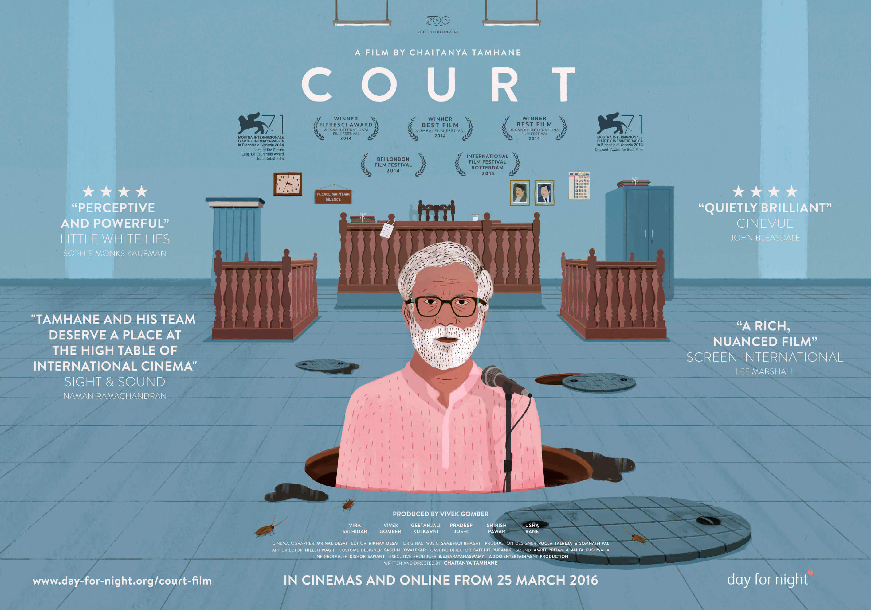 The Foundation for Law, Justice and Society Film Screening: Court
