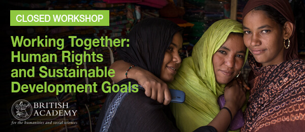 Working Together: Human Rights and the Sustainable Development Goals