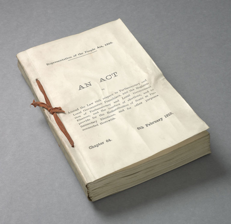 The Representation of the People Act 1918: A Democratic Milestone in the UK and Ireland