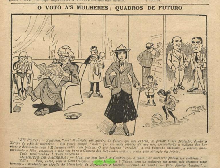 Women's struggle to vote in Brazil: same fight, different strategies