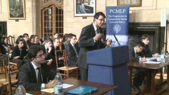 Call for Judges : International Rounds of the Oxford Price Media Law Moot Court, April 2018