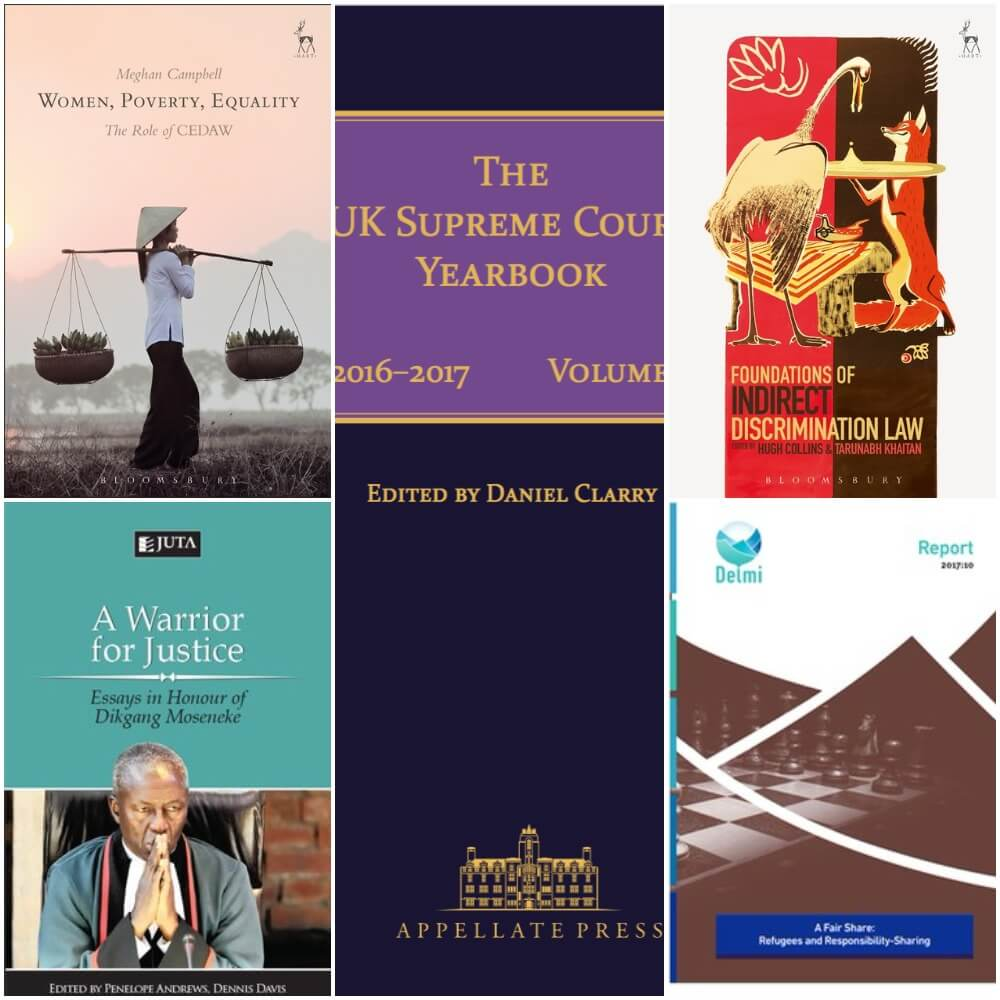New Publications from the OxHRH Team and Associates