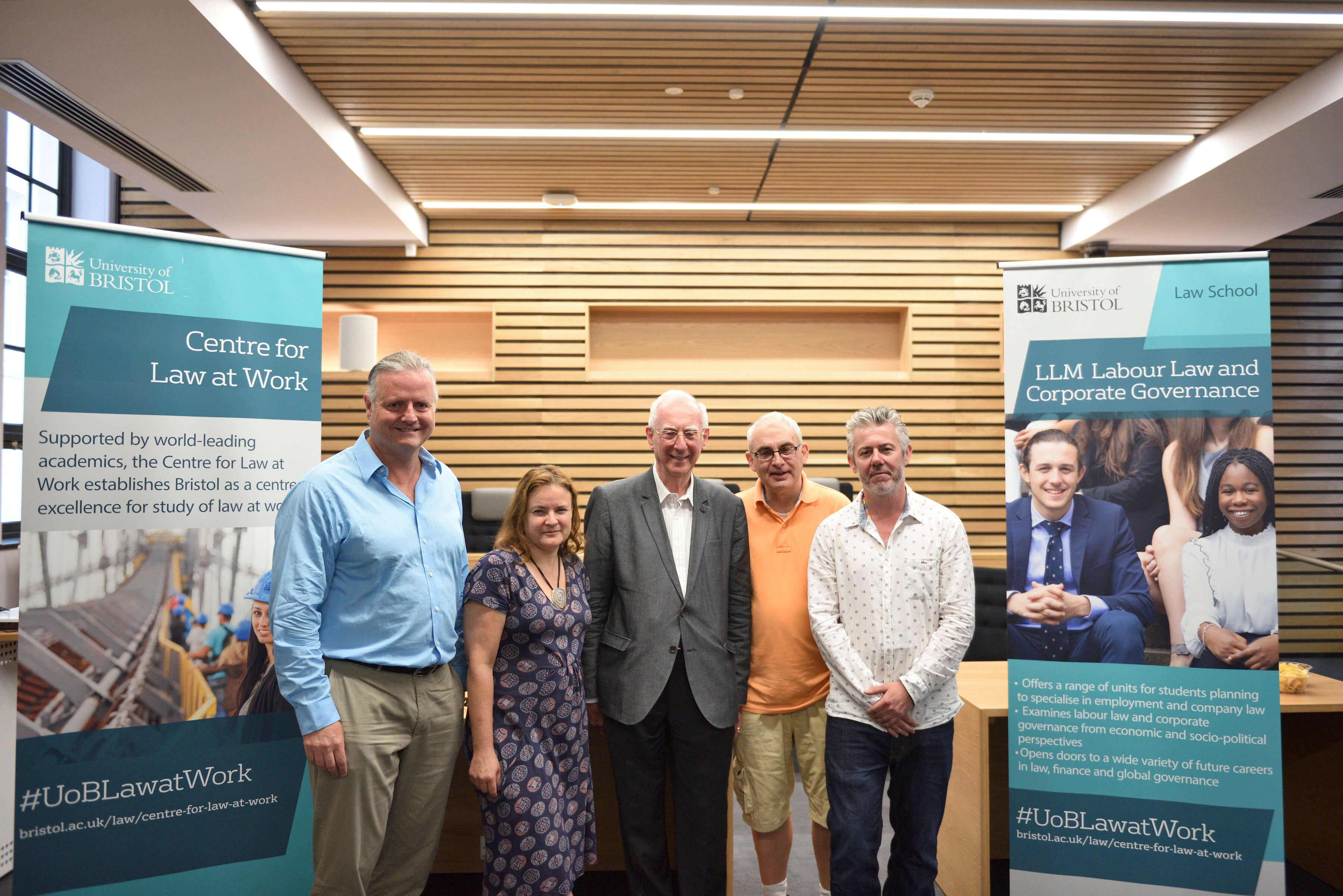 University of Bristol celebrates launch of new Centre for Law at Work