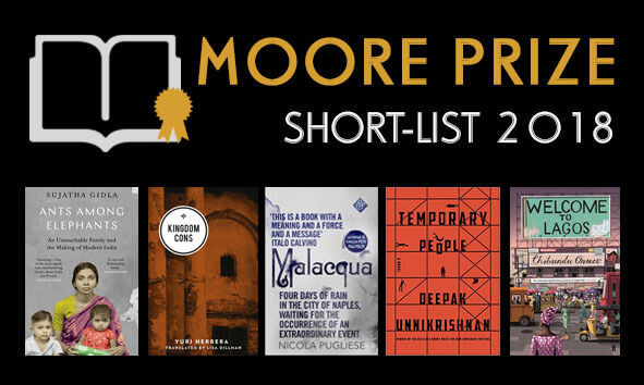 2008 Moore Prize Literature Short List