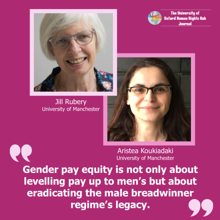 **New** U of OxHRH J Article 'Institutional Interactions in Gender Pay Equity: A Call for Inclusive, Equal and Transparent Labour Markets'