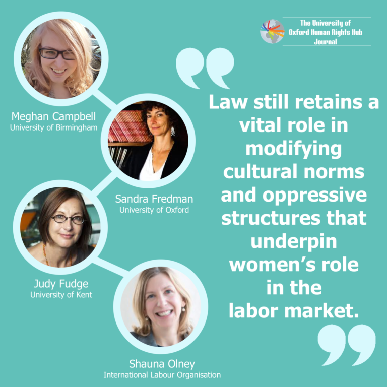 **New** U of OxHRH J Article-'A Better Future for Women at Work'