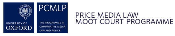 Call for Organising Committee: International Rounds of the Oxford Price Media Law Moot Court, April 2019