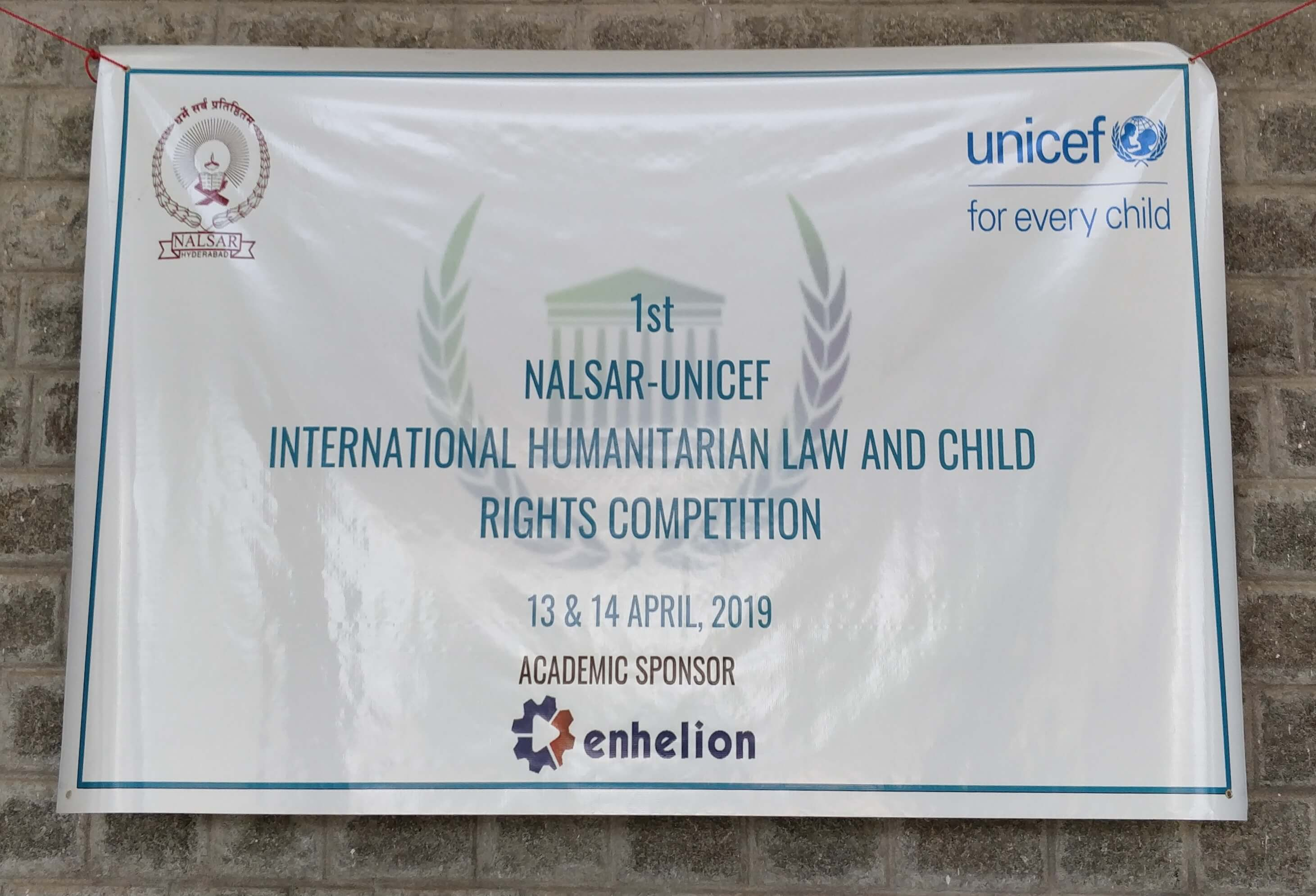 A Write Up on the International Humanitarian Law and Child Rights Competition held at NALSAR, Hyderabad