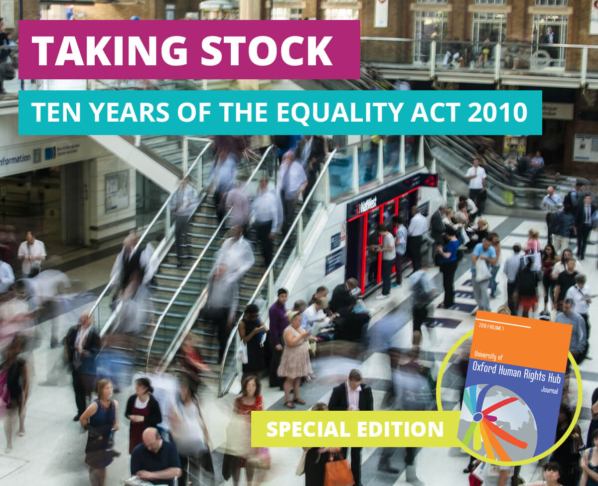 U of OxHRH J Call for Submissions-Taking Stock: Ten Years of the Equality Act 2010